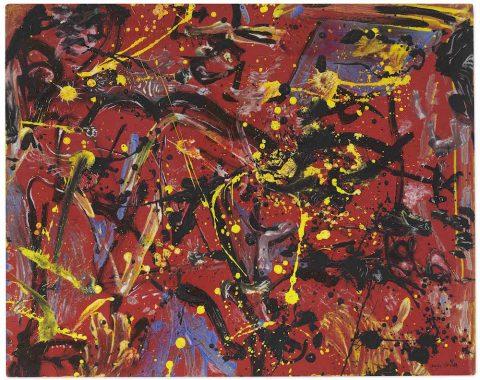 Jackson Pollock: dall'Everson Museum di Syracuse all'asta di Christie's